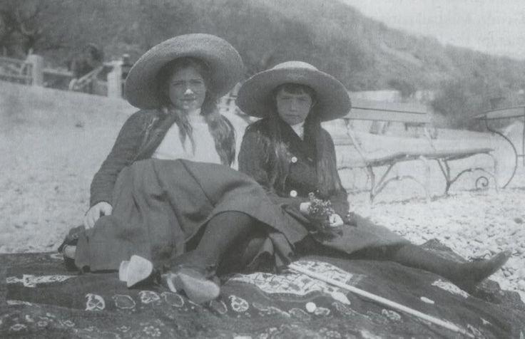 1907-1912. marie. anastasia. romanovs