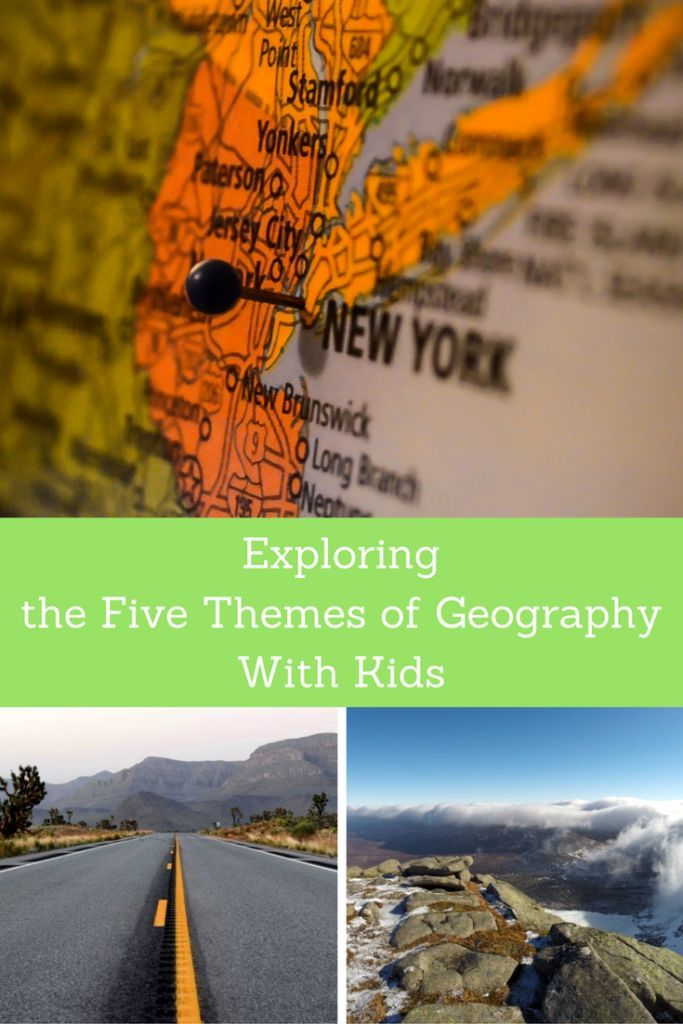 Exploring the Five Themes of Geography With Kids.