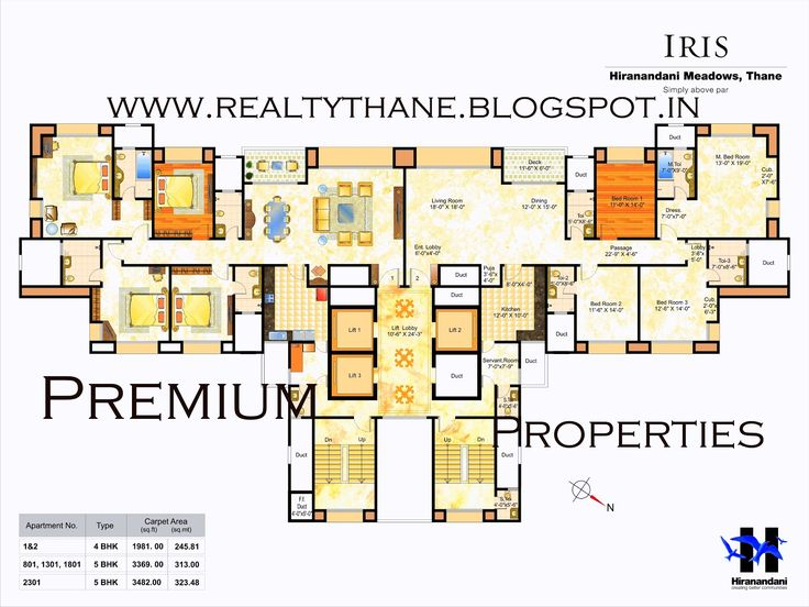 Luxury Apartments Plan beautiful luxury 4 bedroom apartment floor plans images - 3d house