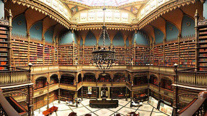 Real Gabinete de Leitura: um assombro em meio ao centro