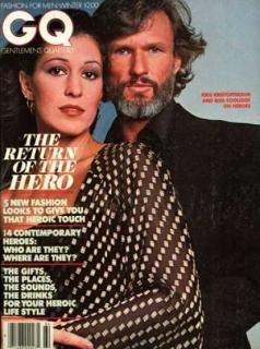 Kris Kristofferson & Rita Coolidge. Married 1973 - 1980.   one daughter Casey Kristofferson
