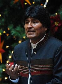 Evo Morales – Bolivía