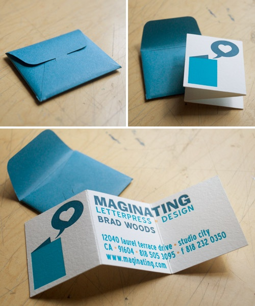 cute business card.