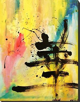 Kanji abstract