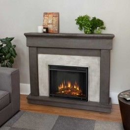 Real Flame Cascade 50 In. Cast Ventless Gel Fuel Fireplace In Dune Stone At  The Home Depot   Mobile