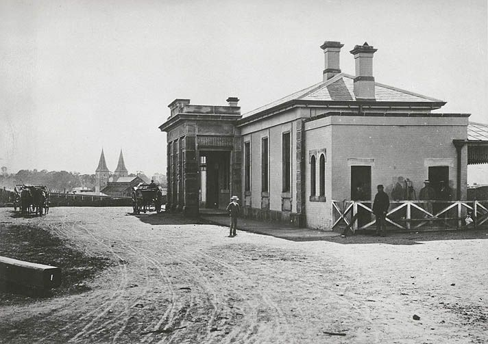 Railway Station - Parramatta, c.1882 | Flickr - Photo Sharing!