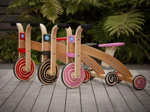 Wooden Cruise Trike