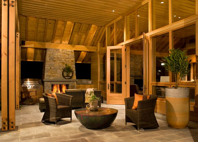 108 best images about  u2666patios  decks u2666 on pinterest beach Covered Patio Fireplace Stone Patio Fireplace with Stone Oven