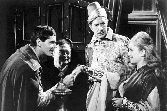 Jack Nicholson - Character n°7 (1963) avec Peter Lorre et Vincent Price - Rexford Bedlo - Le Corbeau (The Raven) de Roger Corman