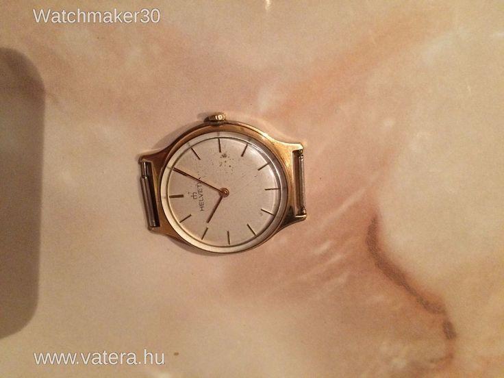Helvetia Svájci karóra. NMÁ! - 1 Ft - Nézd meg Te is Vaterán - Helvetia - http://www.vatera.hu/item/view/?cod=2226107186