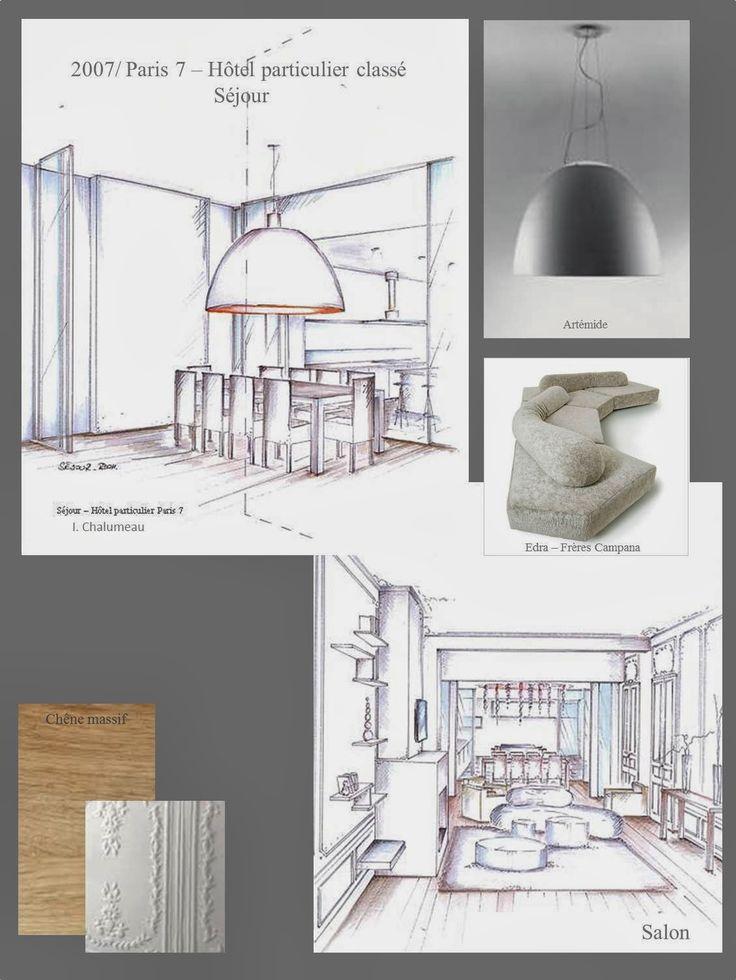 2196 best Drawing \ Sketching images on Pinterest Kitchens - plan d interieur de maison