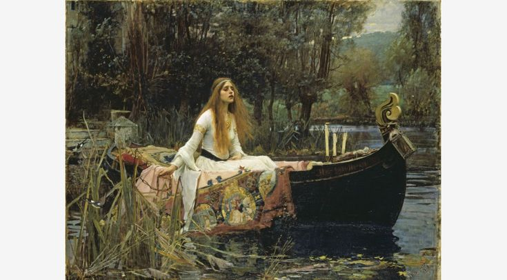 analysis of the lady of shalott Here, we examine john william waterhouse's pre-raphaelite painting the lady of shalott through a little art history, we uncover the hidden meanings in.