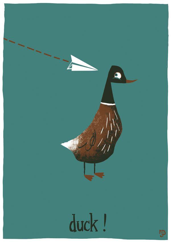 """""""Duck!"""" by Matt Dawson"""