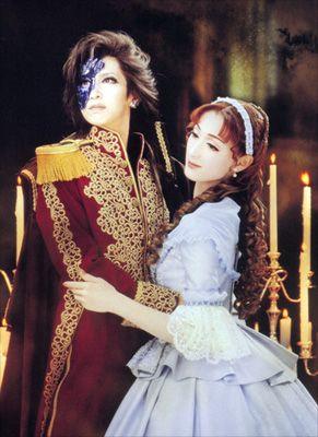 "Flower Troupe production of ""Phantom"" (2006) based off ""The Phantom Of The Opera"" by Takarazuka Revue."