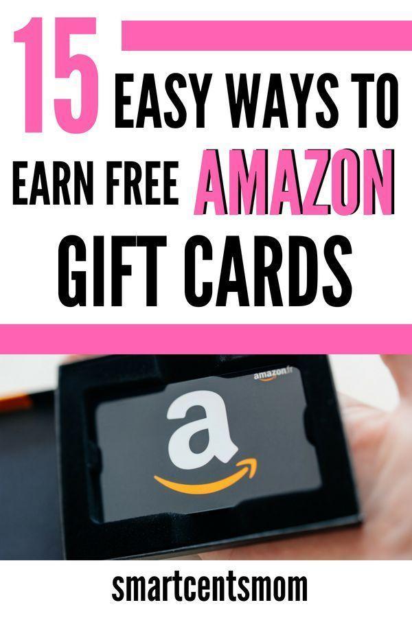 15 Easy Ways To Earn A Free Amazon Gift Card That Actually Work Smartcentsmom Amazon Gift Card Free Free Amazon Products Amazon Gifts