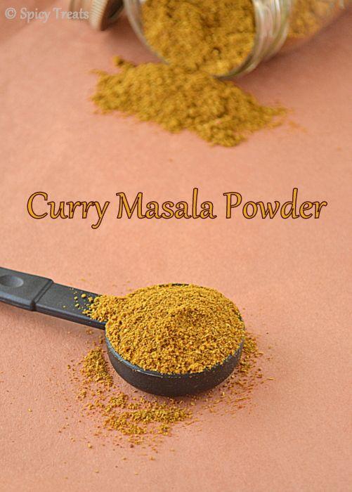 Spicy Treats: Homemade Curry Masala Powder / Curry Masala Powder Recipe