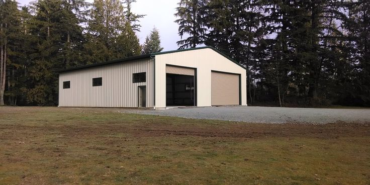 13 best garage buildings images on pinterest steel for Rv garage kits