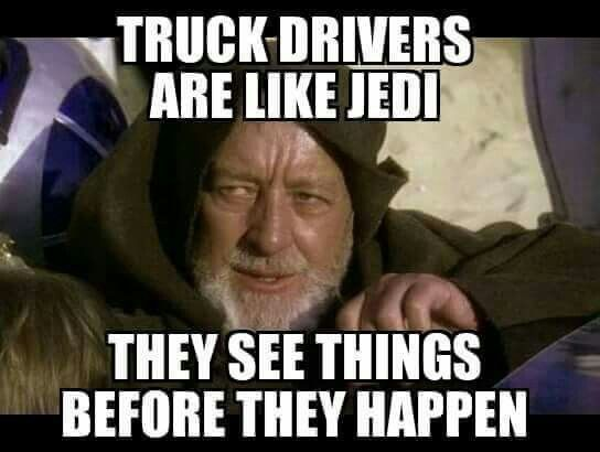 The force is strong with us! #brauntransport #truckingmemes