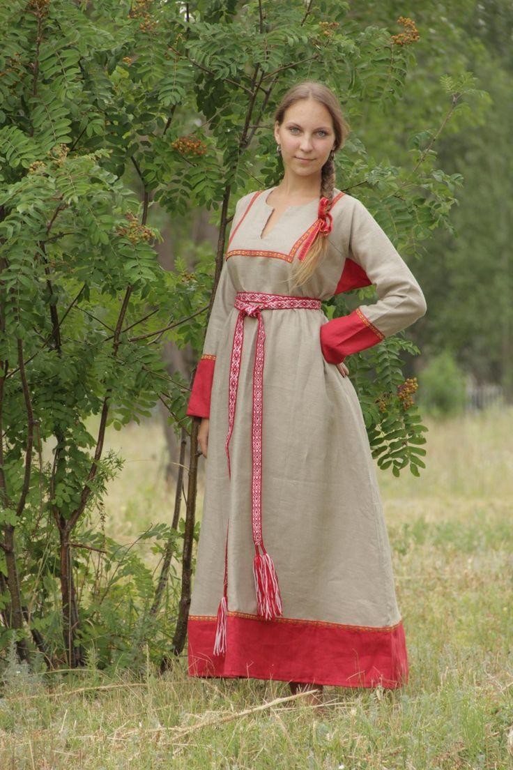 древнеславянская одежда фото женская вологодском районе костры