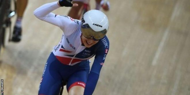 World Track Cycling Championships: Elinor Barker wins world points race gold