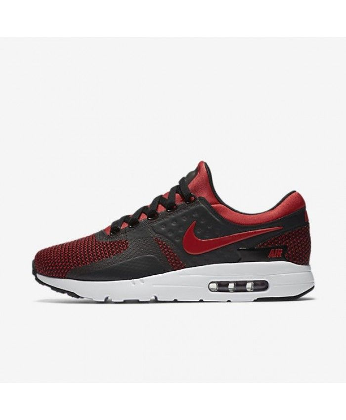 Nike Air Max Zero Essential Mens University Red Black Team Red University  Red Shoes