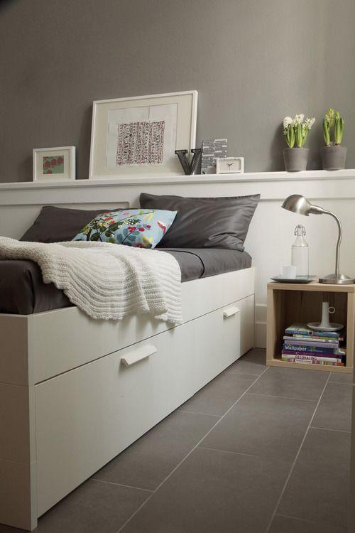 Los tonos grises tambi n son propuestas originales en los for Tonos de pintura para interiores