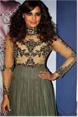 Beautiful Ethnic Grey Satin Anarkali Dresses, Dress