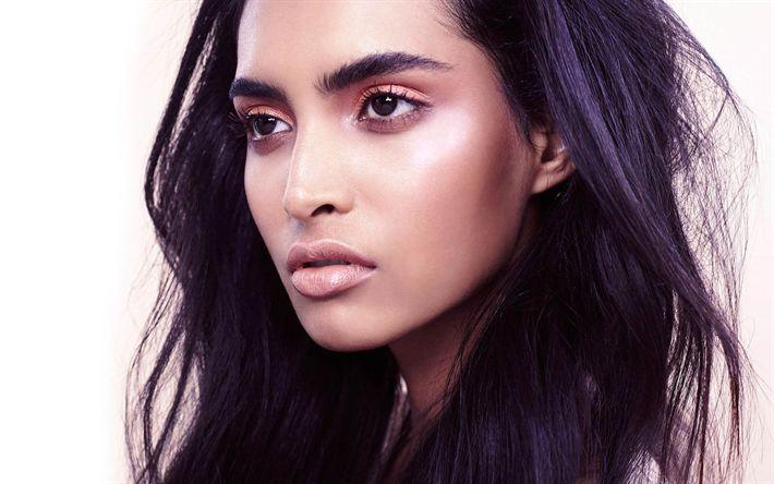 Download wallpapers Rasika Navare, Indian actress, Bollywood, portrait, make-up, beautiful Indian woman