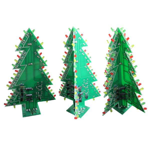 Us 5 24 8 24 Diy Christmas Tree Led Flash Kit Electronic Learning Kit 3 Types Optional Christmas Tree Flash Electronic Learning Types Optional