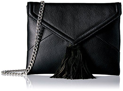The Fix Izzi Envelope Clutch With Chain Crossbody Strap