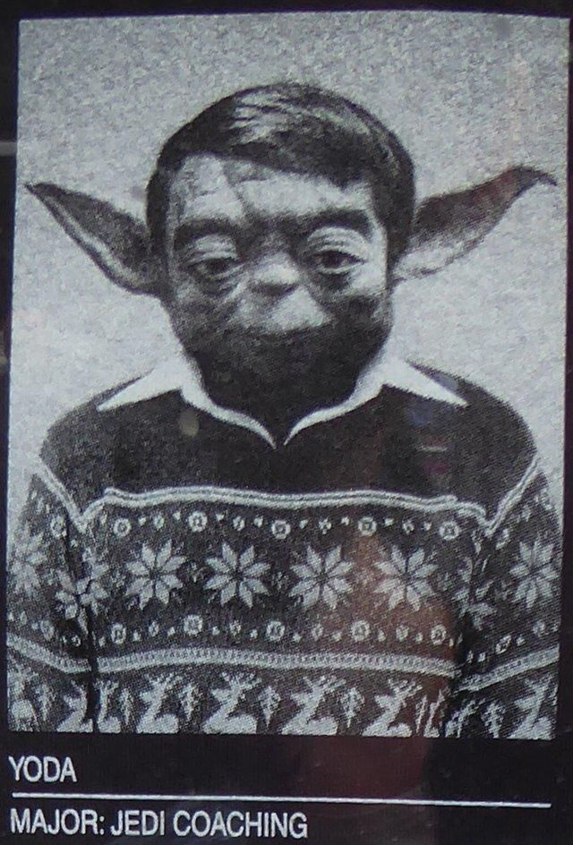 Jedi college - youth image of #Yoda
