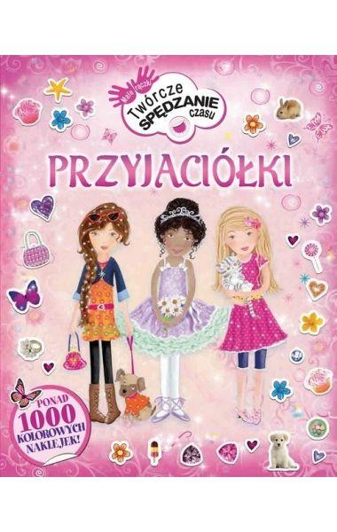 Syrenki, zwierzątka, moda, baletnice, klejnoty, różowe dodatki, przyjęcia i przyjaciółki w jednej książce pełnej naklejek! Czyli wszystko to, co dziewczynki lubią najbardziej!