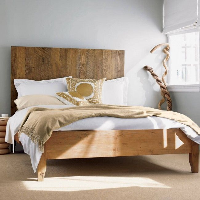 Modernes Designer Doppelbett Holz | varsovia.co