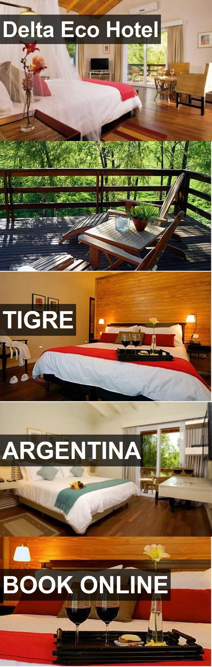 Delta Eco Hotel in Tigre, Argentina. For more information, photos, reviews and best prices please follow the link. #Argentina #Tigre #travel #vacation #hotel