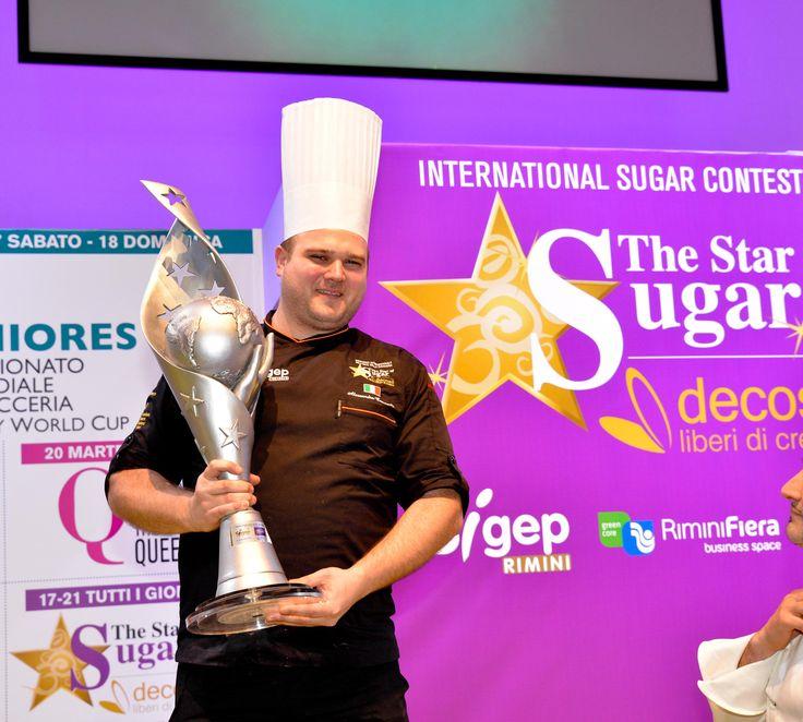 Alessandro Comaschi - Secondo classificato The Star of Sugar decosil 2015