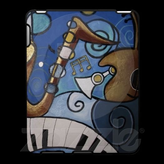 Musical Instruments Abstract iPad Case
