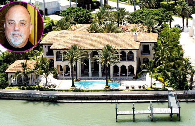 What celebrities have homes in casey key Florida?