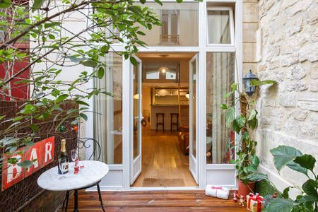Check out this awesome listing on Airbnb: Parisian Loft with terrace in Paris