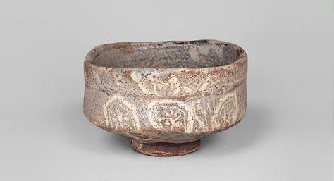 Tea bowl, named Yamanoha|Nezu Museum. Important Cultural Property of Japan. 16th -17th centuries.