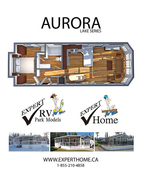 Aurora Lake Series Park Models From Expert Homes Expertrvca