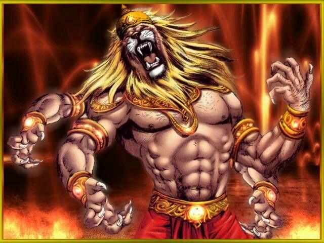 Narasimha Fourth Avtaar of the Lord Vishnu