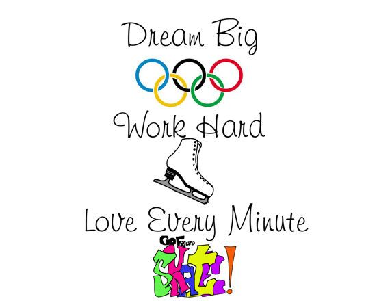 A little motivation for your figure skater today! Sometimes we need to be reminded why we do what we do!