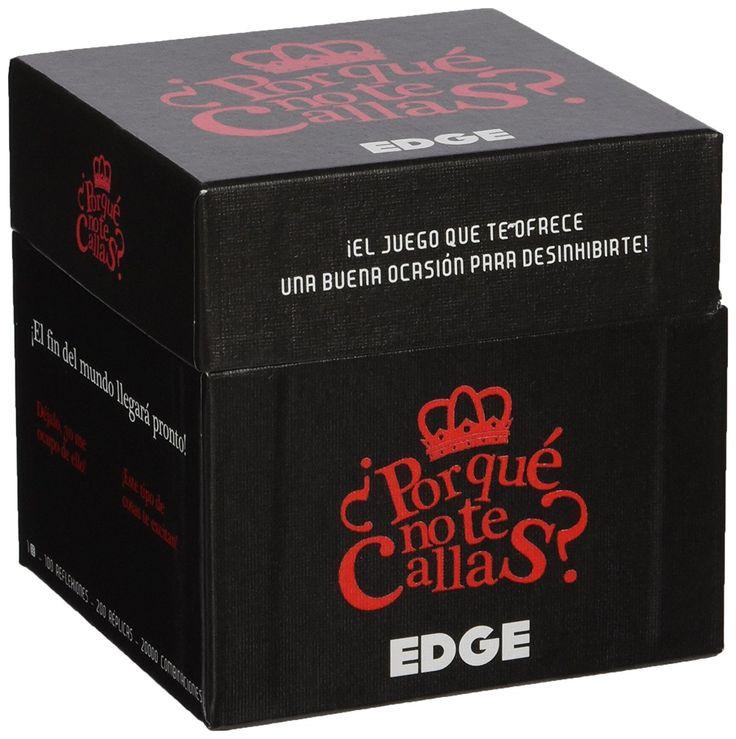 Edge Entertainment - Juego ¿Por qué no te callas? (EDGLA04): Amazon.es: Juguetes y juegos