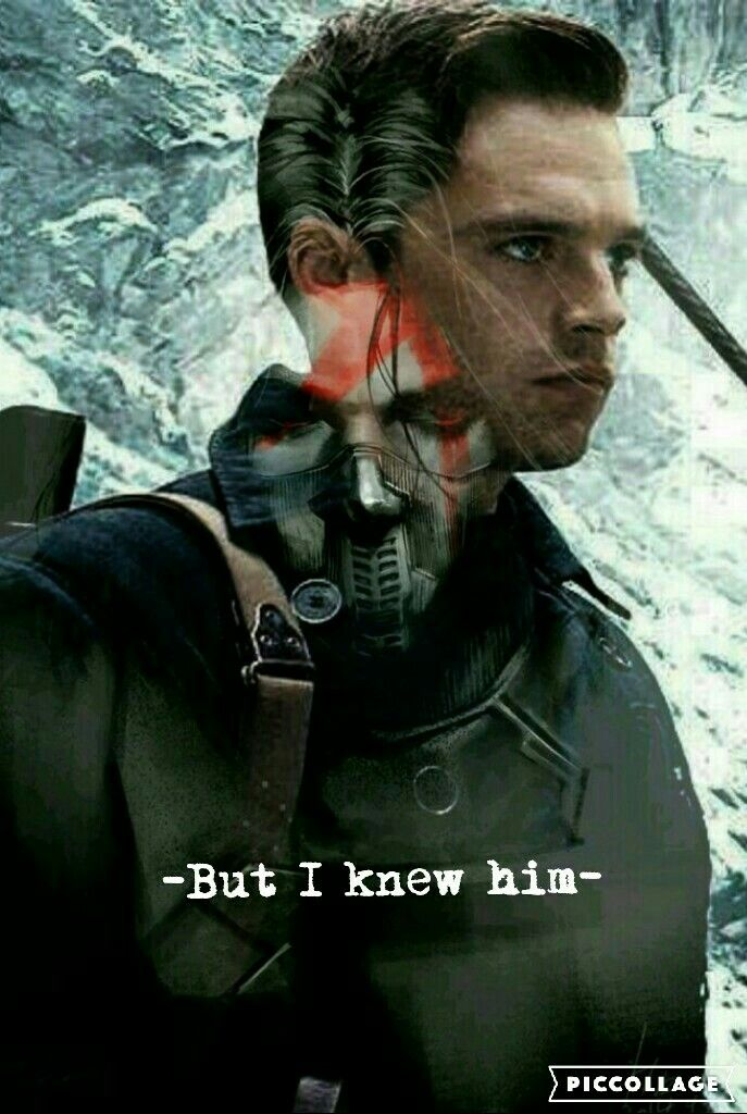 -but I knew him- James Buchanan(Bucky) barnes// the winter soldier