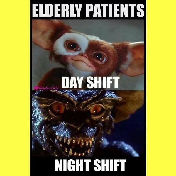 Nurses will understand.