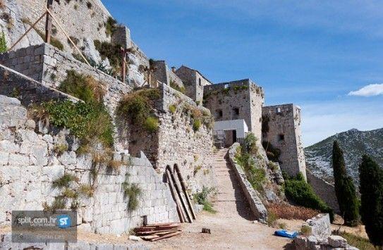 Split Kroatie Klis fort