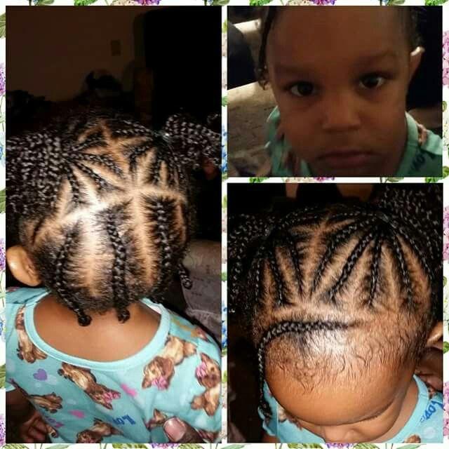 Braids Mixed Toddler Hair Black Portuguese Natural