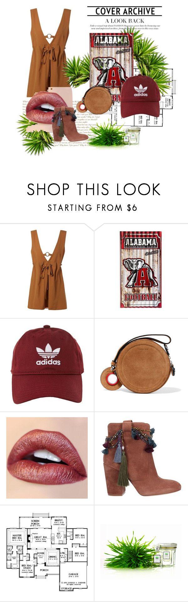 """Alabama"" by rebecioatto on Polyvore featuring moda, adidas, Carven e Strategia"