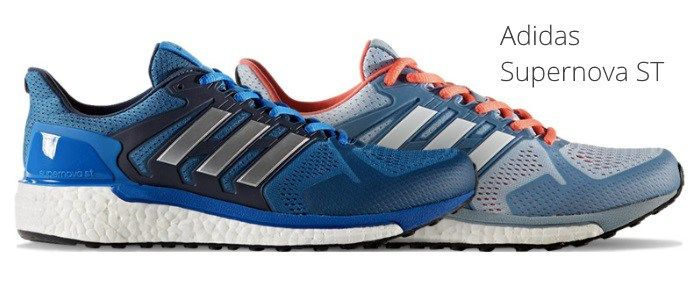 Shoe Review: The Adidas Supernova ST Shoe is a stability running shoe that includes a Boost midsole. This responsive shoe makes it great for daily training runs.