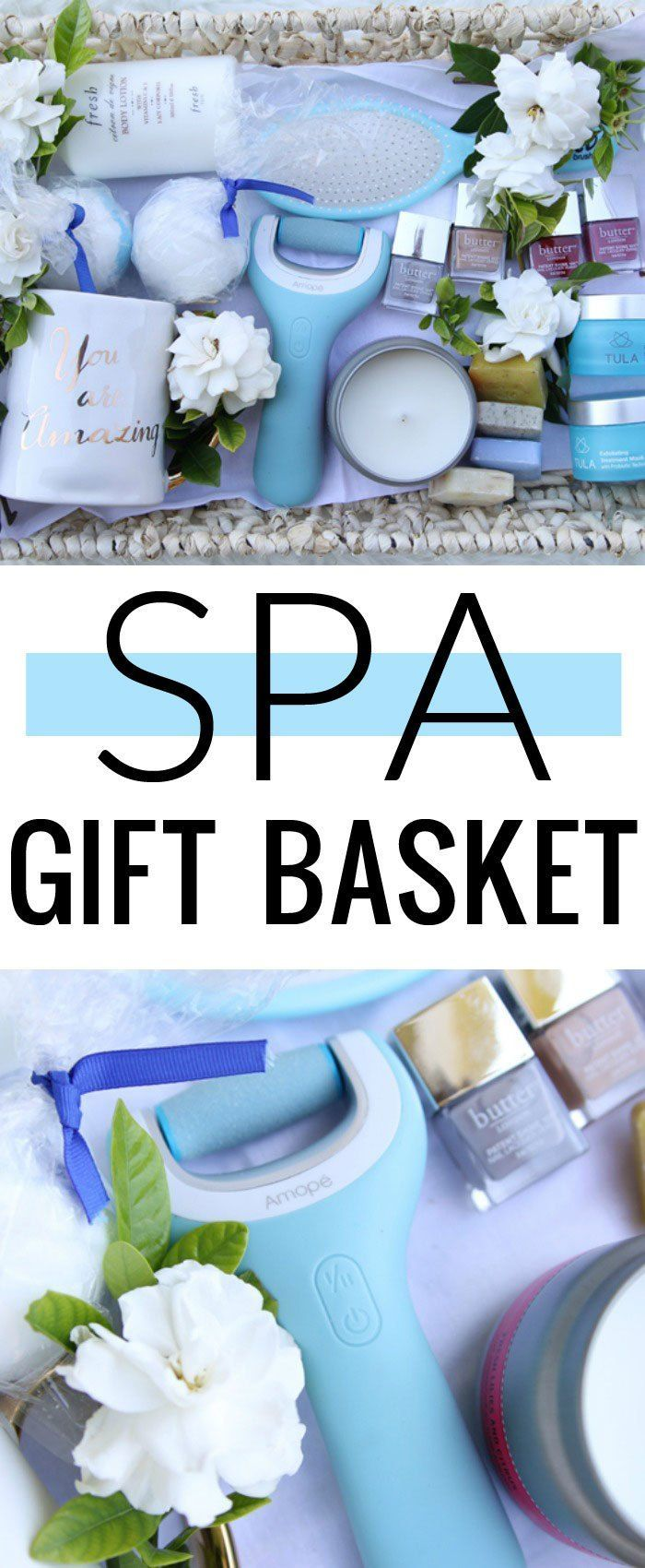 Spa Gift Basket - perfect for any woman that deserves a little pampering!